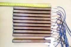 ТЭНП трубчатый электро нагреватель патронного (пальчикового) типа для прессформ